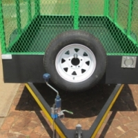 GARDEN / FURNITURE TRAILER - 750kg.