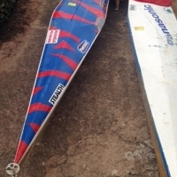 Two K1 Canoes with accessories for Sale