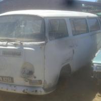 VW kombi bay window low light