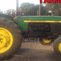 Green John Deere 3130 60kW/80Hp 2x4 Pre-Owned Tractor