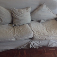 2 Seater Comfortable Couch or 2 Swop for a fold up table &