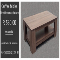 Furniture: Direct from manufacturer
