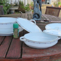 Soup Tureens and matching Meat platter