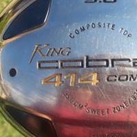 King Cobra 414 Comp Titatium 9.0 degree driver
