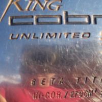 King Cobra Unlimited SS 430 Titanium driver