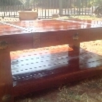 solid teak furniture