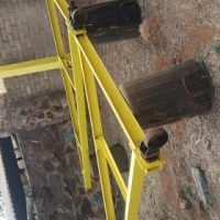 steal gantry for sale with chain block