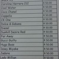 Perfume's 30ml oil based