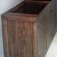 Kitchen Cupboard Base unit Farmhouse series 1800 - Stained