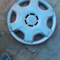 Toyota, older model: hub cap