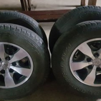 Toyota 16 inch mags and tyres for sale