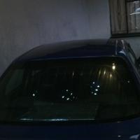 Metallic Blue Corolla rxi