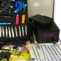 Brand New Double Guns Tattoo Kit Machine