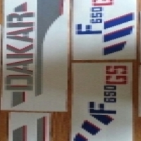 BMW F650GS graphics decals kits