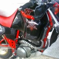 98' Yamaha XT600 Tenere' motorcycle.