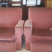 Two single chairs