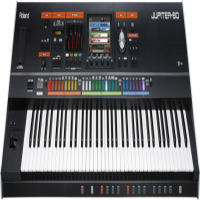 ROLAND JUPITER-80  LEGENDARY PERFORMANCE SYNTHESIZER WITH SUPERNATURAL SOUND TECHNOLOGY