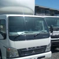 Fuso Canter FE7-136 Van Body