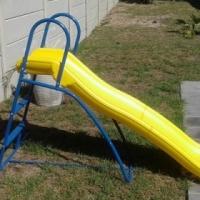 Pool slide.