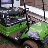 Selling my golf cart