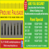 Palisade fencing direct from factory
