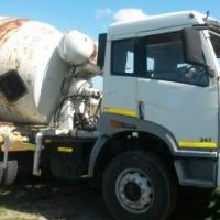 2012  FAW 247 Cement mixer