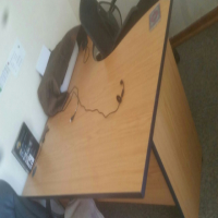 L-shaped office desk for sale - Margate/Ramsgate
