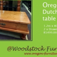 Oregon dutch coffee table
