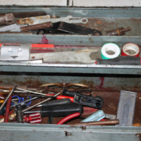 Toolbox with tools S023564A #Rosettenvillepawnshop