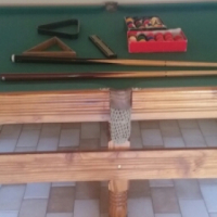 Snooker Table Half Size plus Accessories