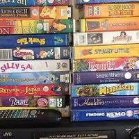 VHS & Kids movies