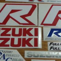 1986 GSXR 750 suzuki graphics sticker sets