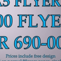 FLYERS - FULL COLOUR - FREE DESIGN