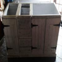 Kitchen Cupboard Base unit Farmhouse series 2100 - Chalk paint distressed