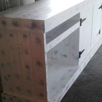 Kitchen Cupboard Wall unit Farmhouse series 2100 - Chalk paint distressed