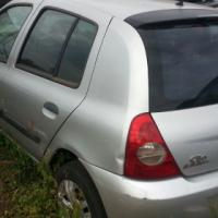 2007 RENAULT CLIO 5 DOOR ACCIDENT DAMAGED