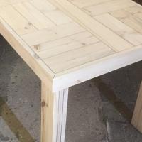 Patio table Farmhouse series 1400 Raw