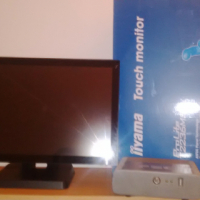 """inyama 23"""" inch touch screen and FEC pc boxes"""