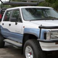 1997 Toyota Hilux double cab 4x4