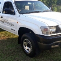 2004 Toyota Hilux 300d Rised body