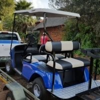 EZGO 4 seeter golf cart