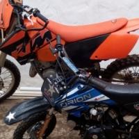 2004 Ktm 125 SX & 2011 Gomoto Orion 72cc pitbike.
