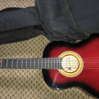 Acoustic guitar for sale.