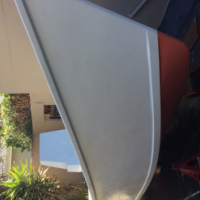 5.2m GRP Pacific Dory fishing boat for sale
