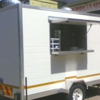 Fully fitted Insulated food trailer
