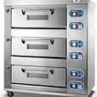 Baking Oven 3 Deck 9 Tray