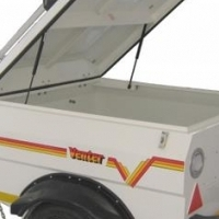 Venter trailer - hardly been used - new price R13000