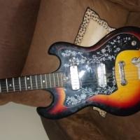 horugel Hg-202 70's sunburst project guitar