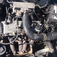 Mazda 323 160i fuel injected lite on fuel
