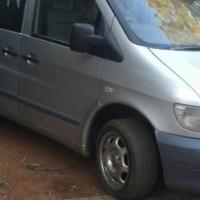 2004 merc vito 112 diesel-5 speed mini bus/8 seater